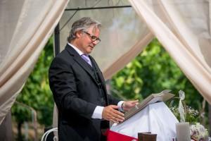 Freie Trauung mit Thomas Marz in Weingut