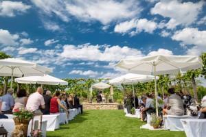 Hochzeitslocation für Freie Trauung Weingut Rebarena